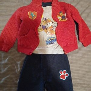 3 Piece Paw Patrol Outfit! *! 3T!*!